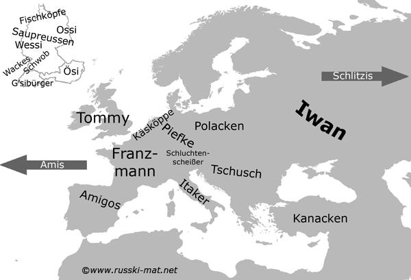 Национальные прозвища